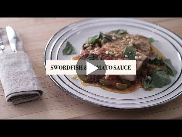 "Fabio's Kitchen: Season 3 Episode 36, ""Swordfish and Tomato Sauce"""