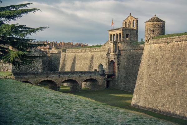 Citadelle de Jaca, sur le Chemin Aragonais