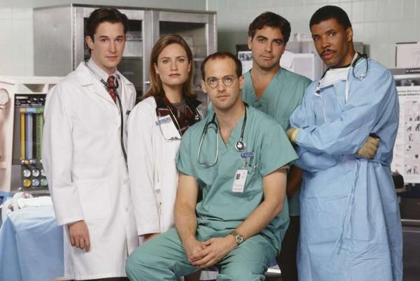 'Urgencias' es la otra serie que cumple 25 años de su estreno