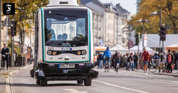 Frankfurt startet Testlauf für autonomes Fahren – mit ungeahnten Problemen