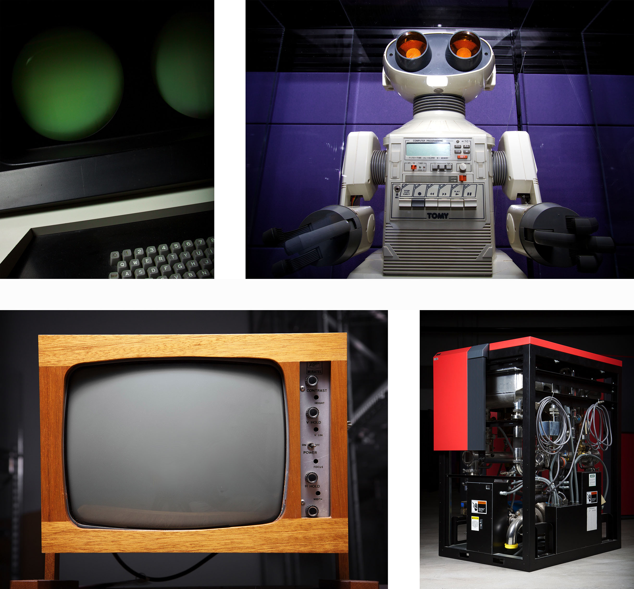 Some photos taken by me in the Computer History Museum after hours