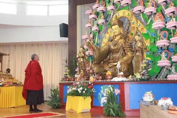 Orgyen Tobgyal Rinpoche At Guru Lhakang