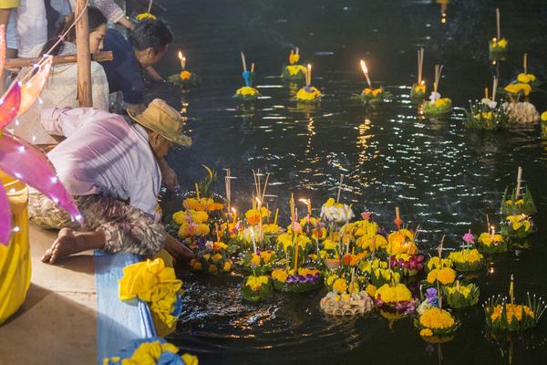 Een jaarlijks hoogtepunt voor veel Thai: Loy Krathong.