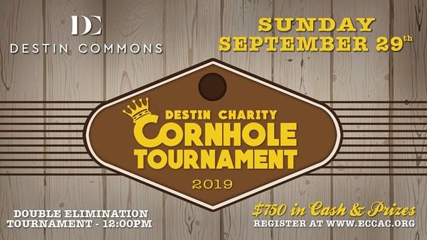 'Destin Charity Cornhole Tournament' Ticket Giveaway!