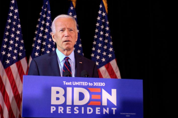 De Democratische presidentskandidaat Joe Biden (foto: Reuters)