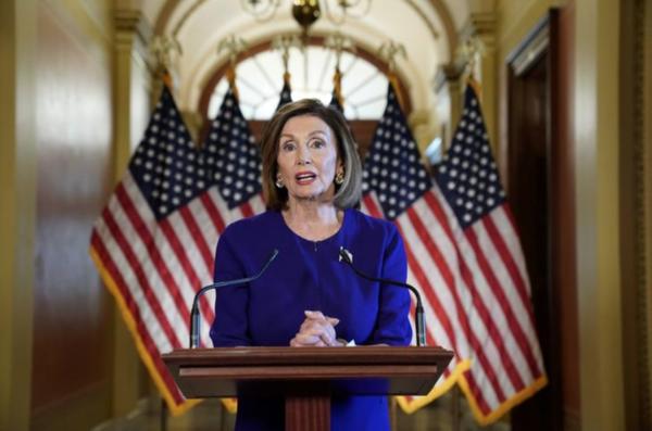 De Democratische leider Nancy Pelosi (foto: Reuters)