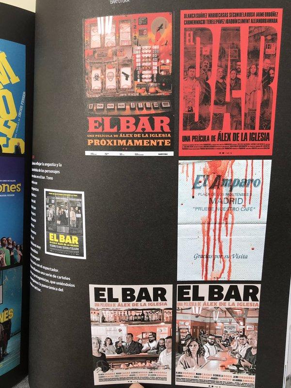 Foto de @juanlsanguino sobre el artículo de los carteles en la revista Academia de Cine