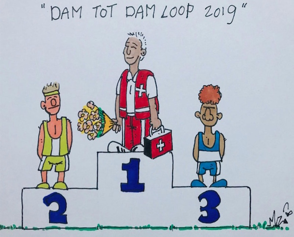 Napret! Dam tot Damloop 2019 (filmpjes & foto's) | De Orkaan