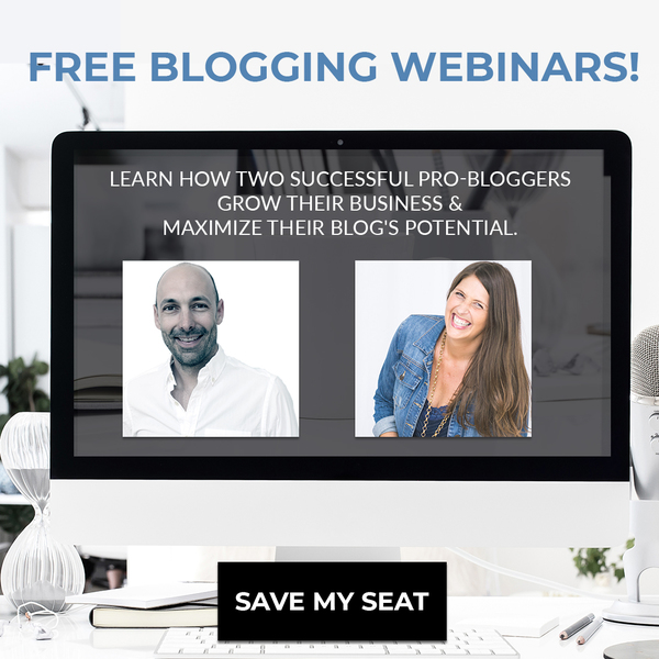 [EVENT] Two free blogging webinars next week!
