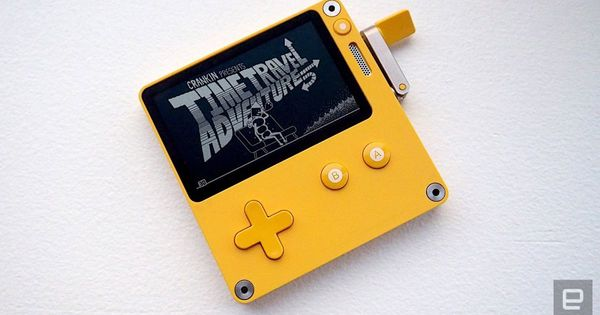 Playdate's tiny hand-held with a crank is big on charm