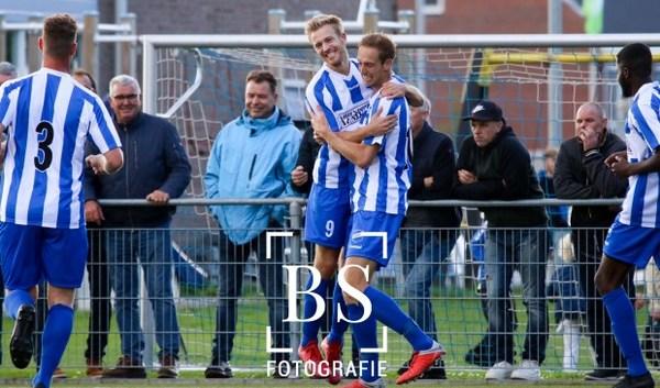 Getergd Almkerk knokt zich vol strijd in stormachtige wind naar 1-0 tegen Papendrecht