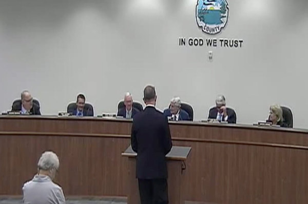 Okaloosa County Board of County Commissioners issued a statement regarding the recycling situation