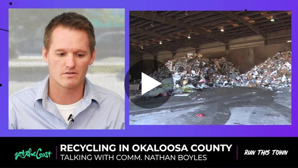 Commissioner Nathan Boyles talks the future of recycling in Okaloosa County