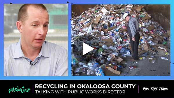 Okaloosa County Public Works Director talks recycling decision