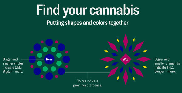 'Leafly Cannabis Guide' uses data and design to help people better understand marijuana effects