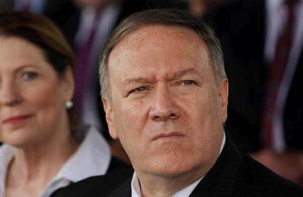 Minister Pompeo van Buitenlandse Zaken (foto: Reuters)