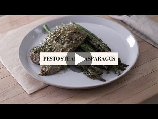 "Fabio's Kitchen: Season 3 Episode 38, ""Pesto Steak and Asparagus"""