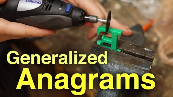 """Anagrams, but where you can break apart letters: """"Anagraphs"""""""