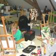 Open dag bij Teken- en schilderclub Jacobswoude