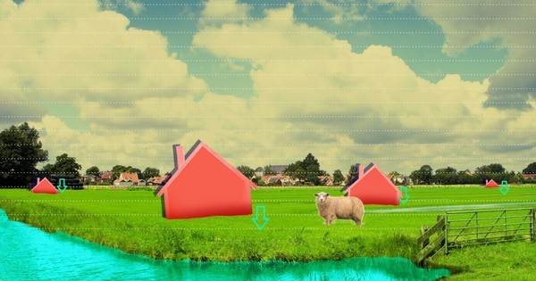 Onze koeien laten wegzakken of onze huizen laten instorten: bodemdaling dwingt ons te kiezen