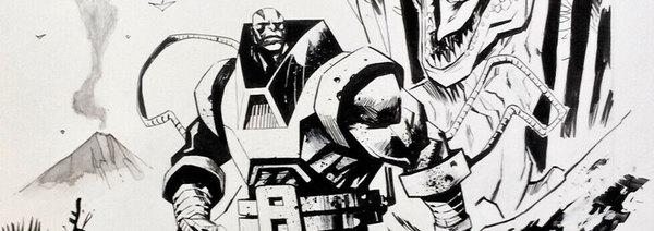 Mike Huddleston - X-Men Original Cover Art
