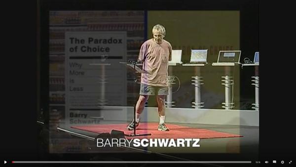 klik op de foto & enjoy The Paradox of Choice (15 minuten)