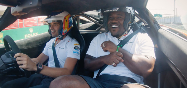 ASAP Ferg Spits a Crazy Freestyle While Drifting in a Speeding McLaren