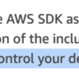 Should you pack the AWS SDK in your deployment artefact?