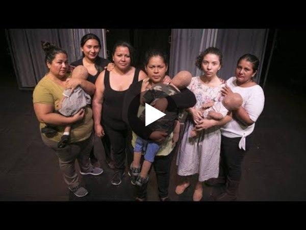 Trailer La Cachada Teatro: Mujeres Salvadoreñas pasan de la calle al Teatro al Cine Español