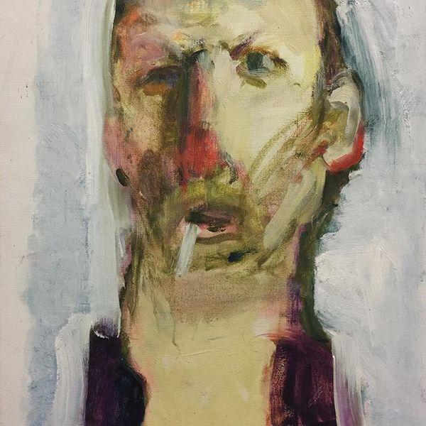 Selfportrait - Huug Pleysier (Museum Belvedère)