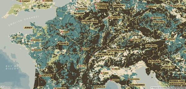 Mineral map style