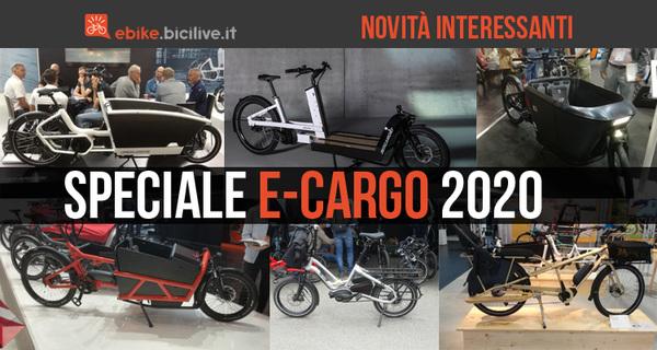Cargo bike elettriche 2020: le migliori e-Cargo pedalata assistita