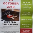 Let's play table tennis!