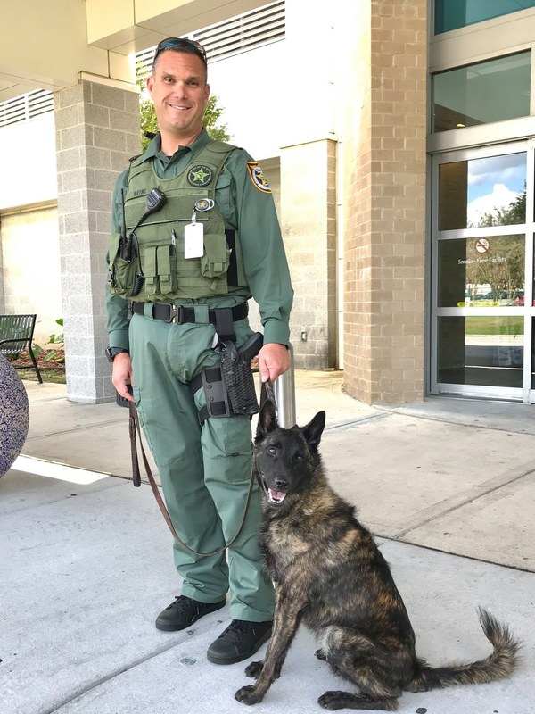 Team VPS welcomes newest Airport Security Unit Deputy