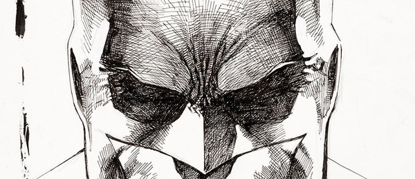 Jim Lee - Batman Sketch Original Art