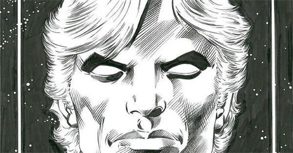 Alan Davis - Warlock Original Cover Art