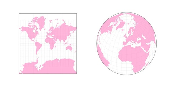 WebGL wrapper around the d3-geo projections