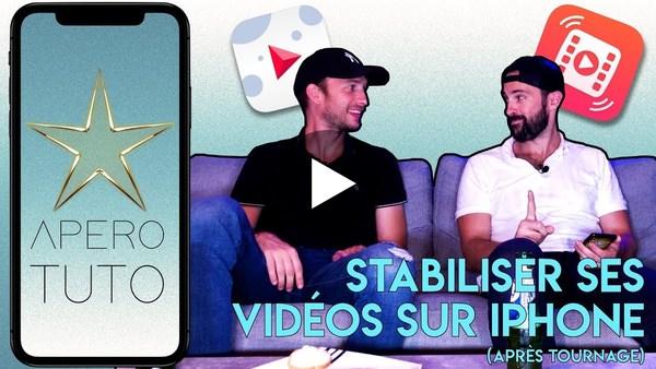 STABILISER une VIDÉO APRÈS TOURNAGE sur iPhone - TUTO