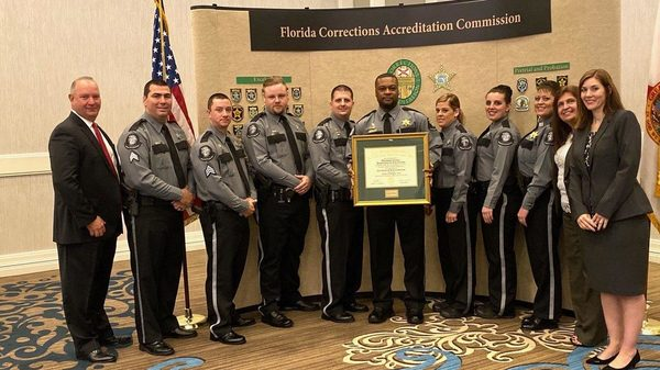 "Okaloosa County Corrections Division receives award for ""a safe, well-run institution"""