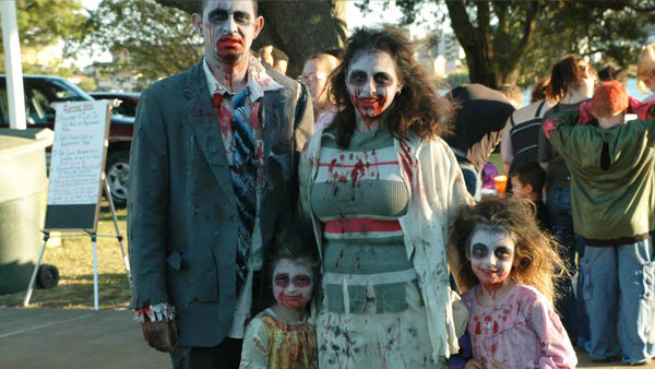 The Zombie Walk & Canned Food Drive is back in Downtown FWB