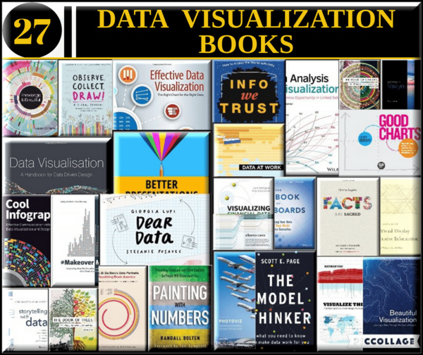 27 Data Visualization Books That Everyone Should Read