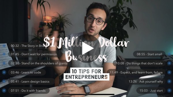 How I Made a $1 Million Dollar Business in Medical School - 10 Tips for Entrepreneurs