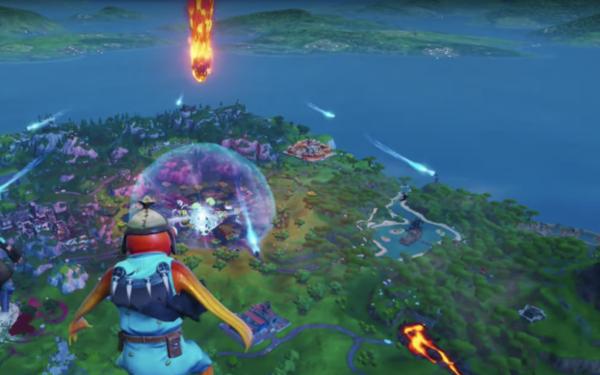 Paniek! De wereld van Fortnite eindigt in een zwart gat - WANT