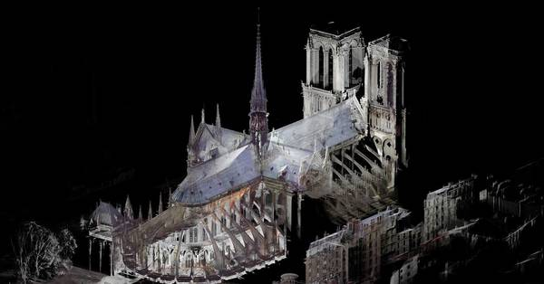 How Notre Dame is being rebuilt from 50 billion scraps of data