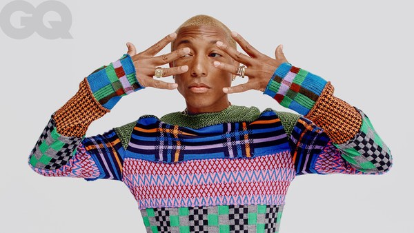 "Pharrell on Evolving Masculinity, ""Blurred Lines,"" and ""Spiritual Warfare"""