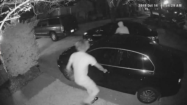 PUH-LEEZE lock your cars: Two males were seen on video burglarizing vehicles in Destin and FWB