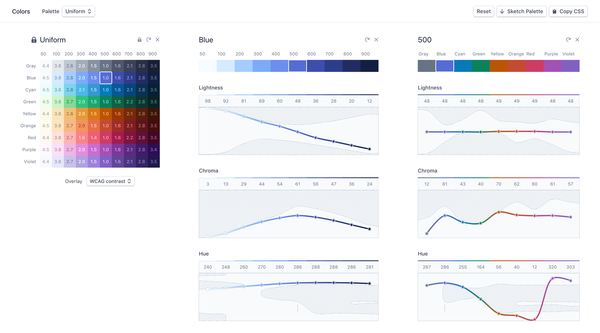 Designing Accessible Color Systems by Stripe