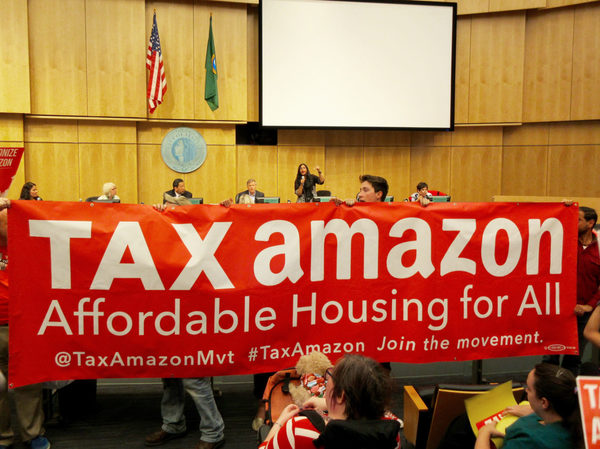 Amazon gives $1M to group seeking to upend Seattle City Council in upcoming election