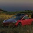 De Tesla pickup truck moet een futuristisch beest worden - WANT