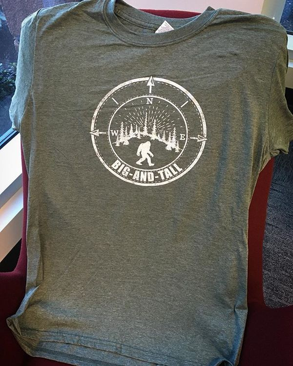 The official Big and Tall t-shirts are in. $20. Online orders available soon.